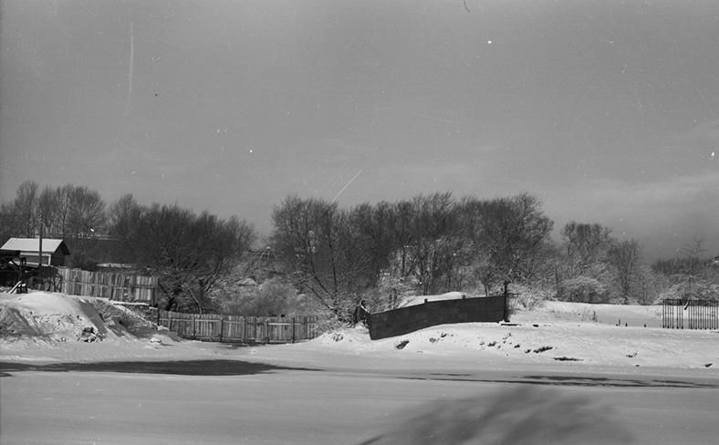 Место слияния Кронверкского протока с Кронверкским проливом в конце 1950-х годов